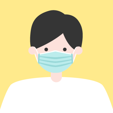Wear a surgical mask